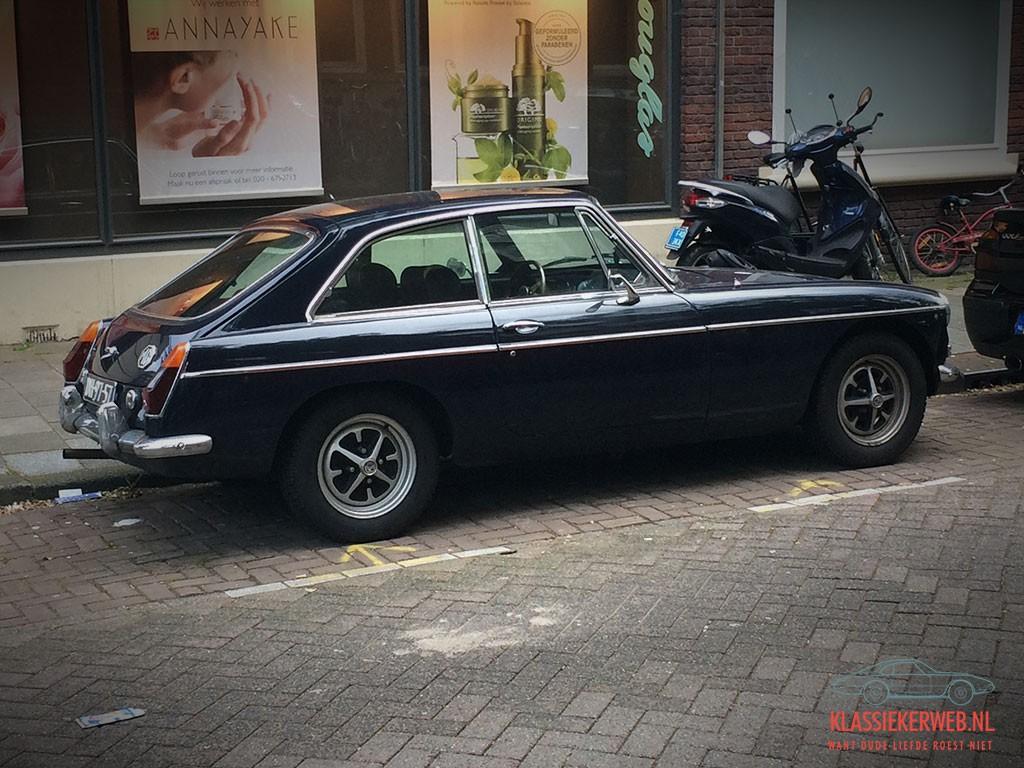MG B GT uit 1971