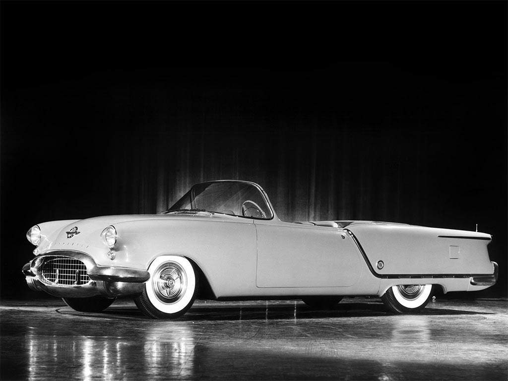 oldsmobile starfire concept car 1953