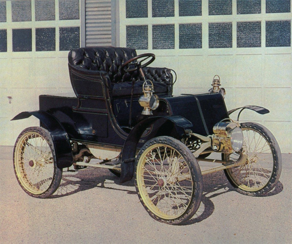 packard model C uit 1900