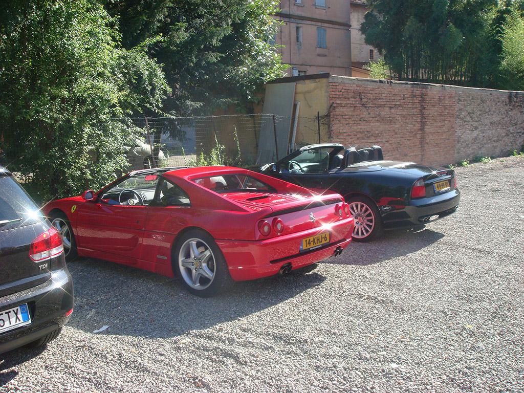 parkeerplaats Modena