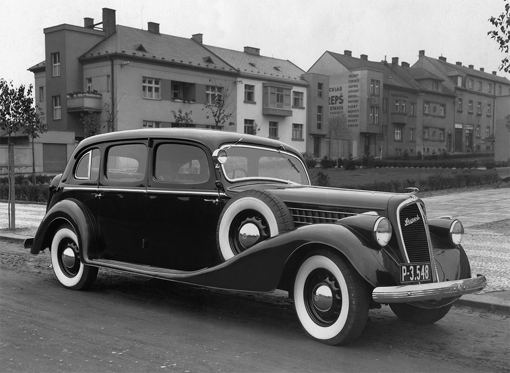 skoda superb 1936