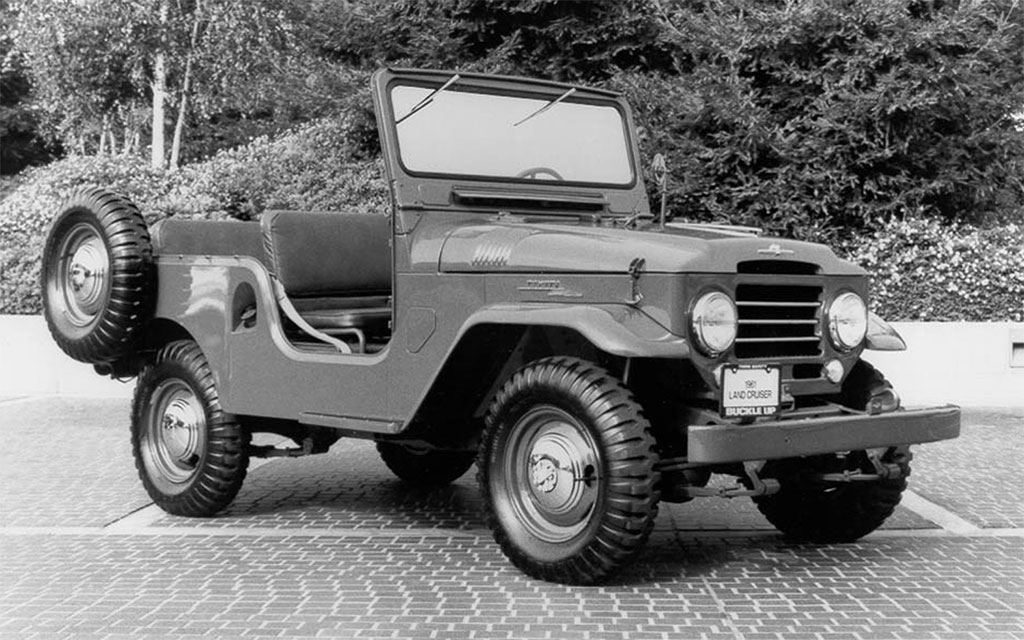toyota land cruiser 1951