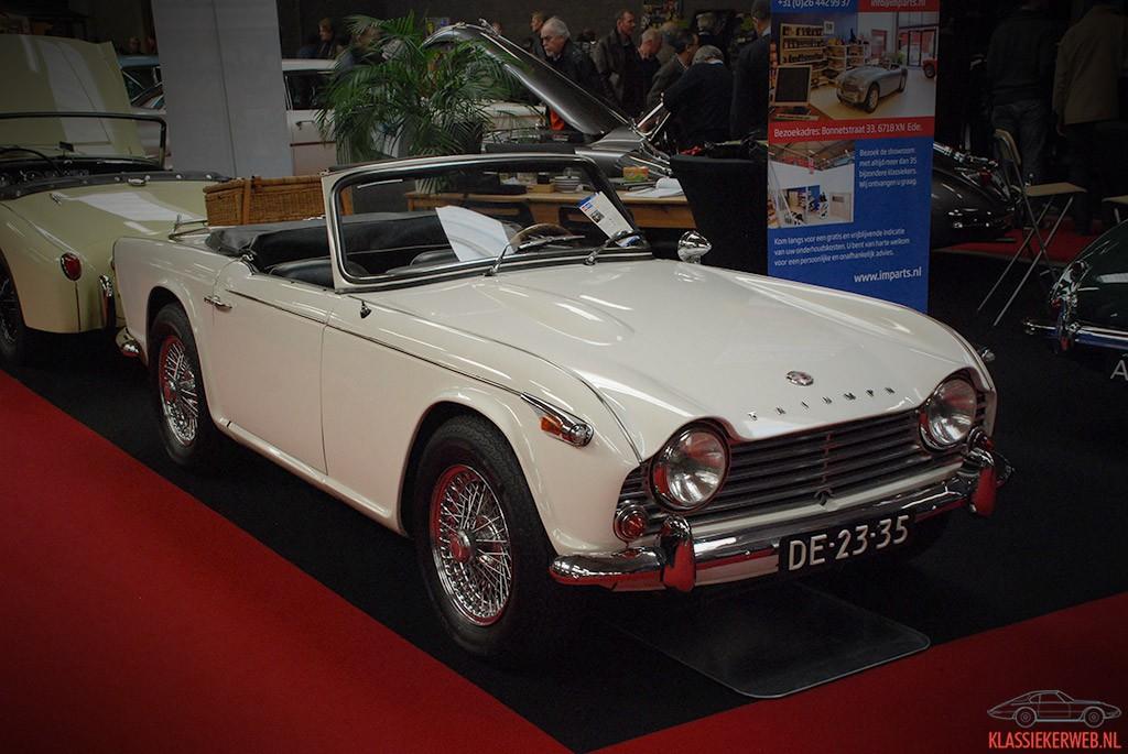 triumph tr4a uit 1967