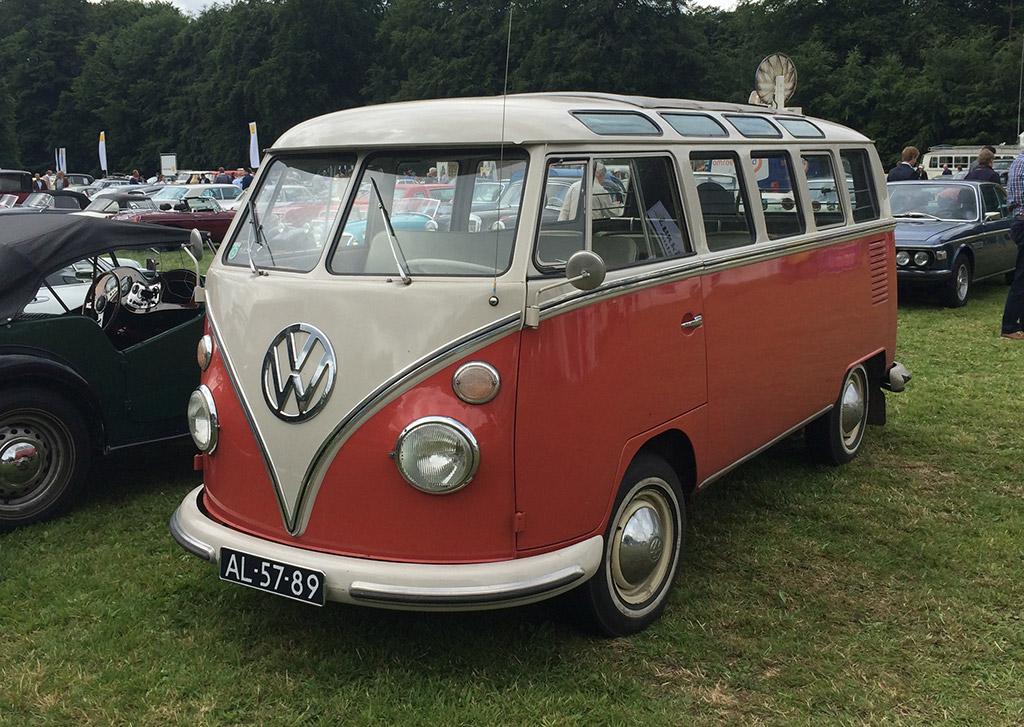 volkswagen type 2 samba 1965