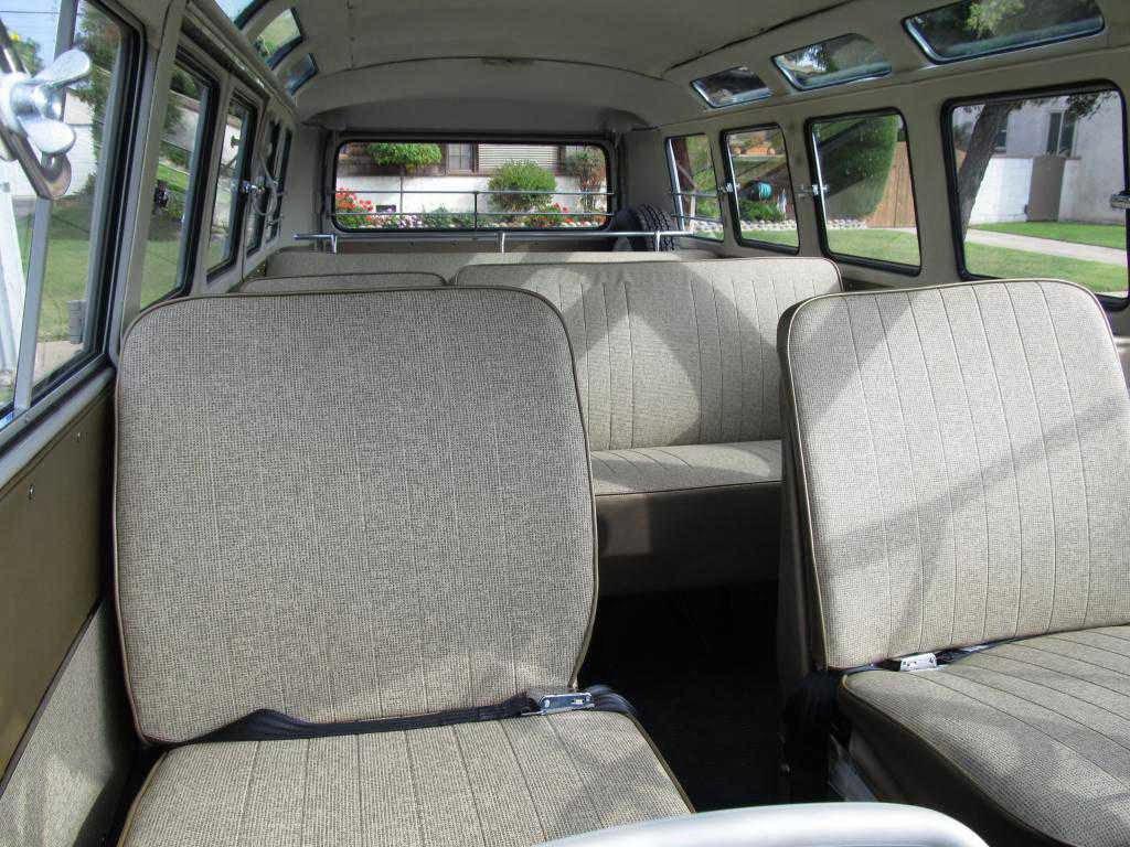 Volkswagen bus klassiekerweb for Interieur combi split