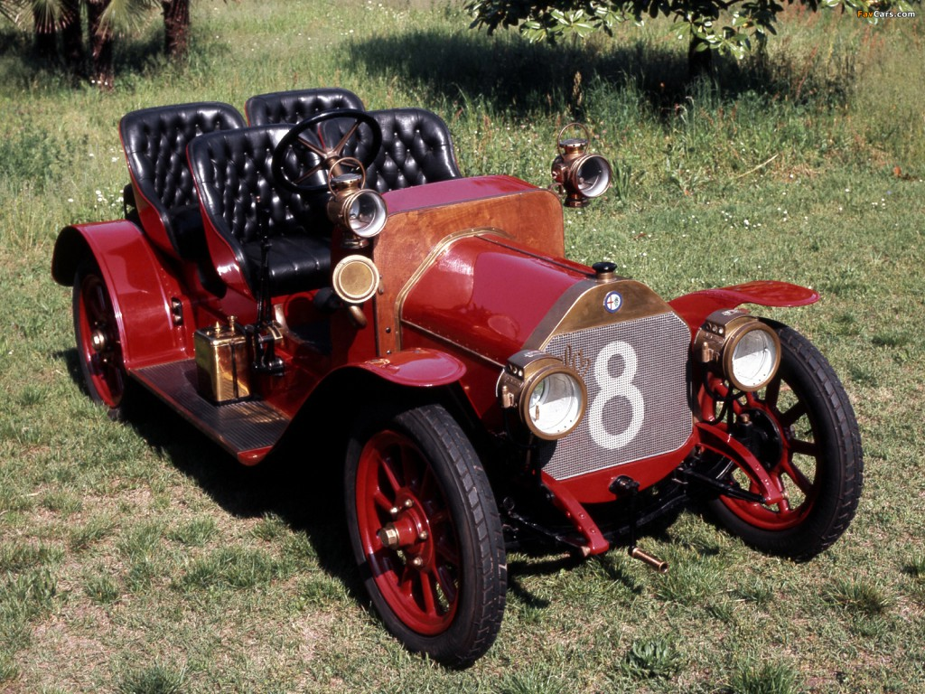 alfa romeo 15 hp