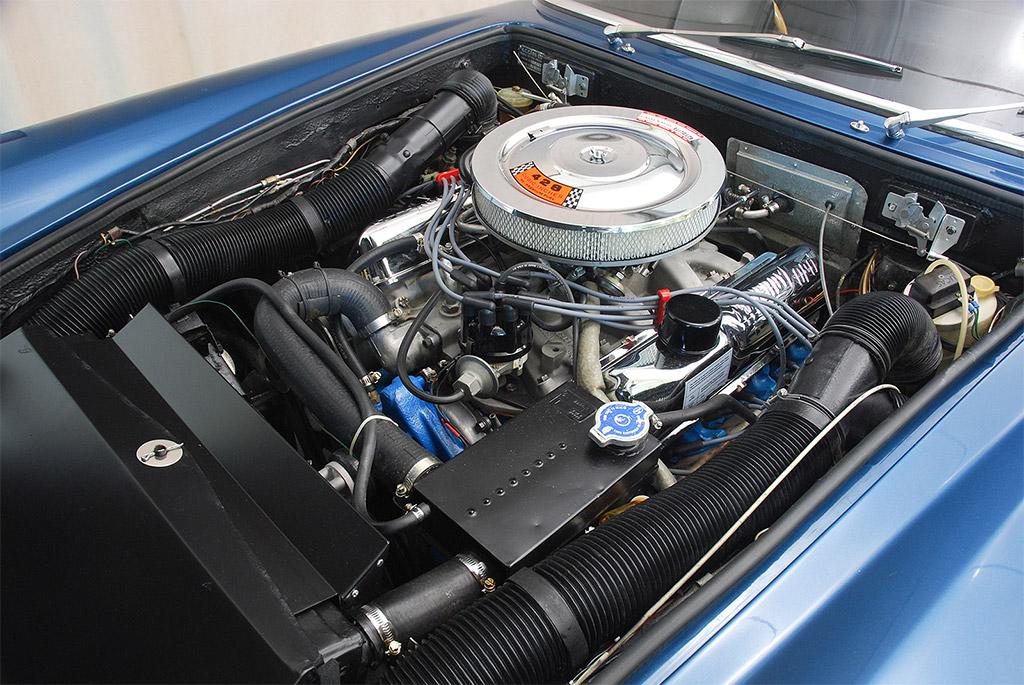AC 428 Frua 1968 motor
