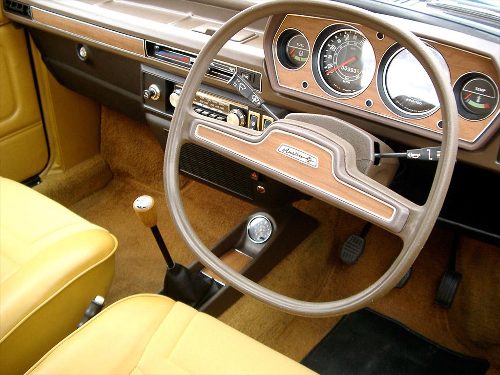 Austin Allegro interieur