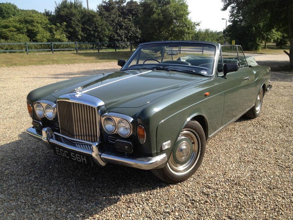 Bentley T1 Mulliner drophead 1969