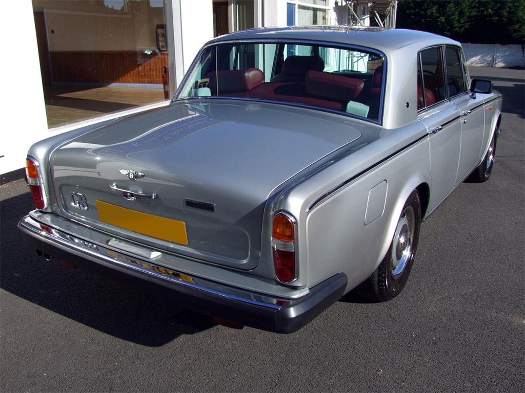 Bentley T2 achterzijde