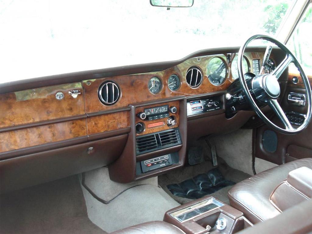 Bentley T2 interieur