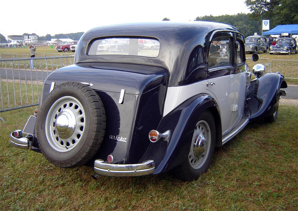 _Delahaye 134N Berline Autobineau 1936