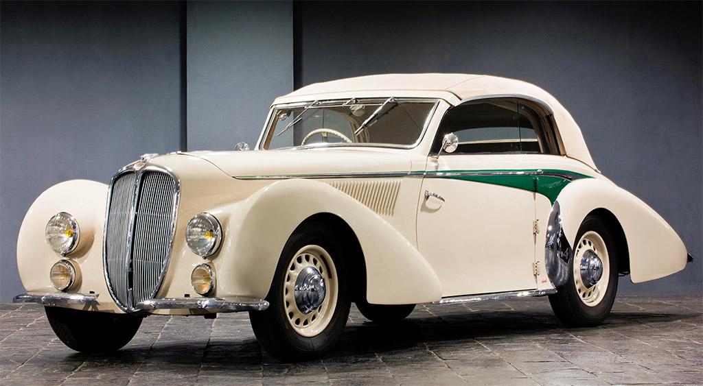 Delahaye 135M Cabriolet Langenthal 1938