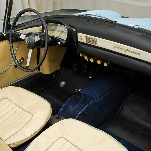 Fiat 1200 TV cabrio 1958 interieur
