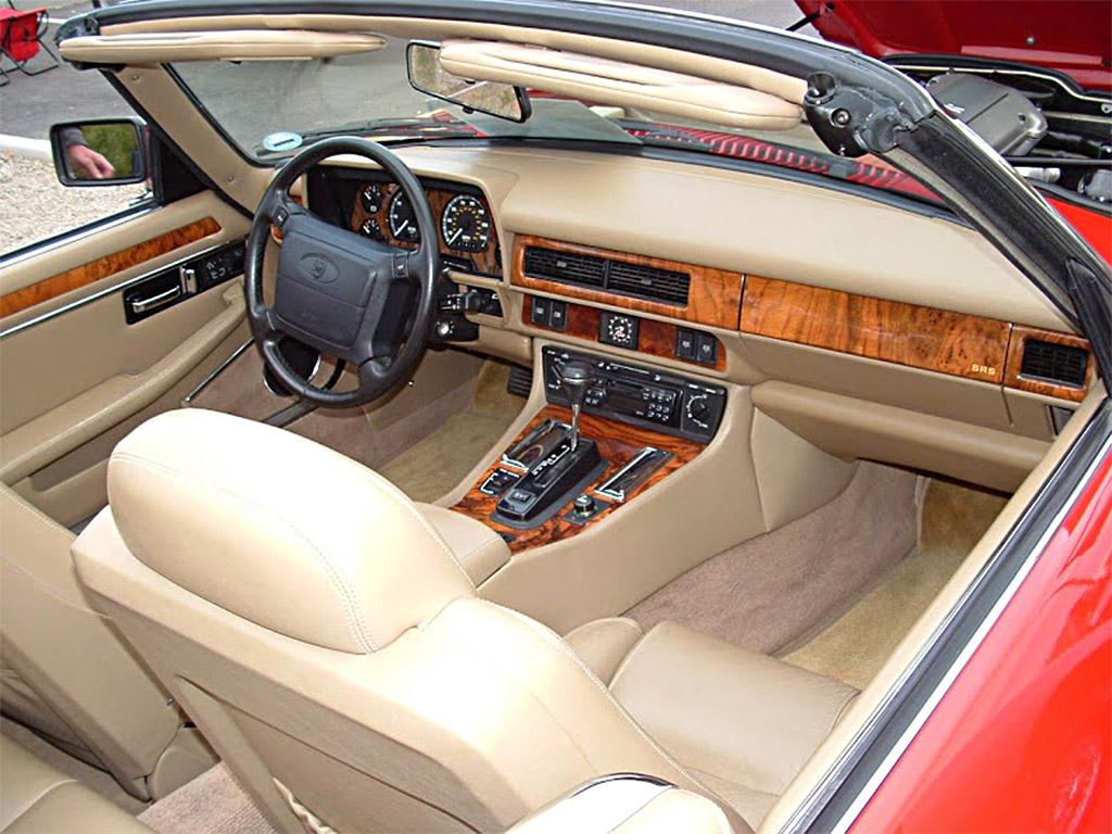 Jaguar XJS interieur