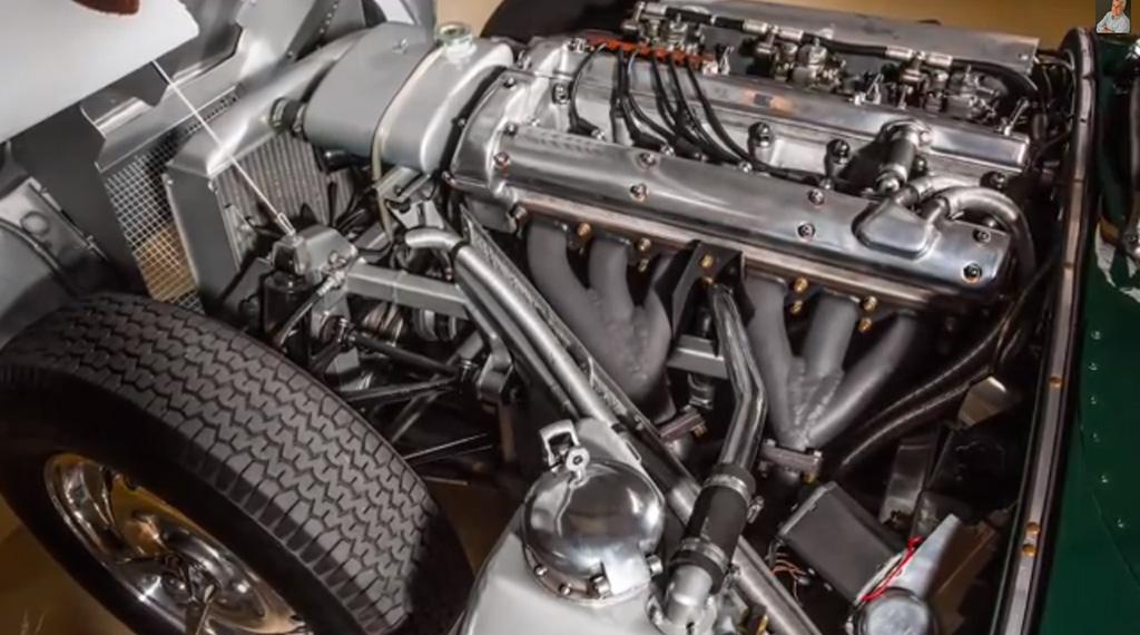 Jaguar XKSS motor