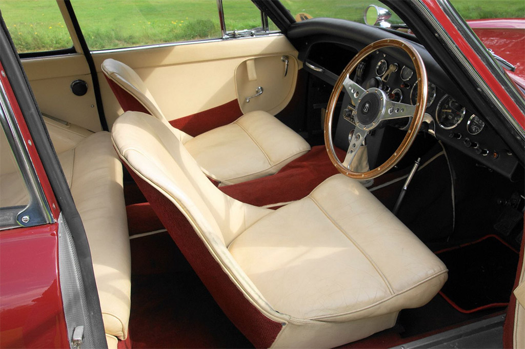 Jensen 541 1956 interieur