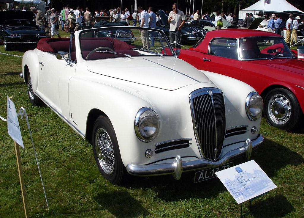 Lancia Aurelia uit 1950