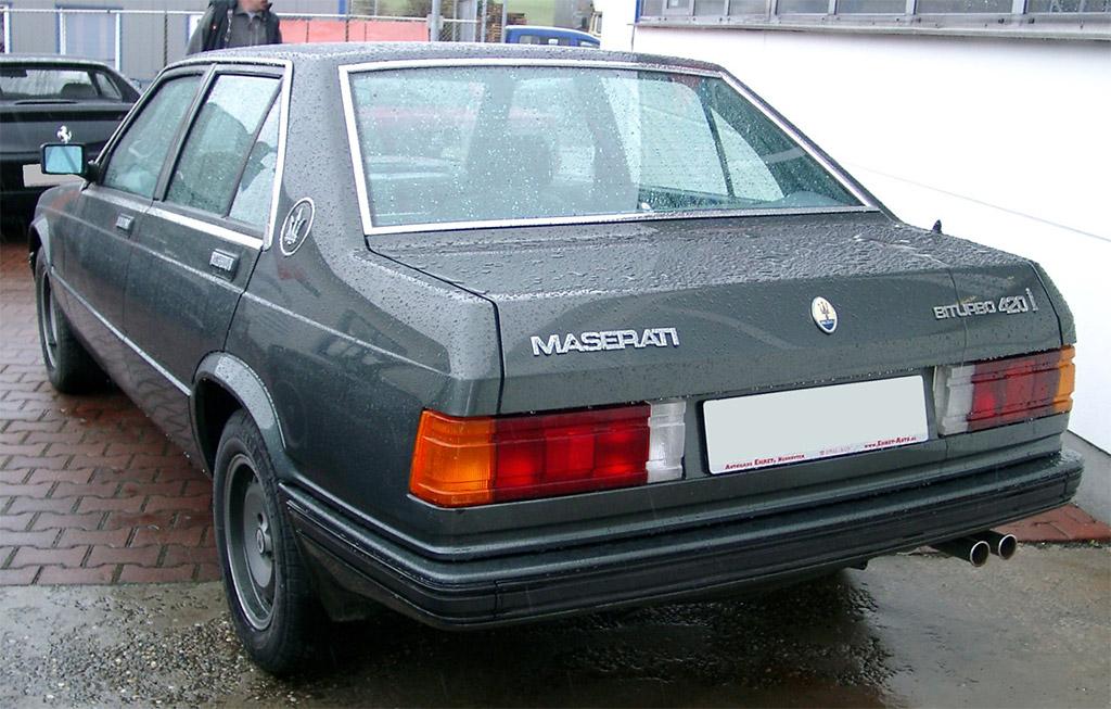 Maserati Biturbo 420 - Klassiekerweb