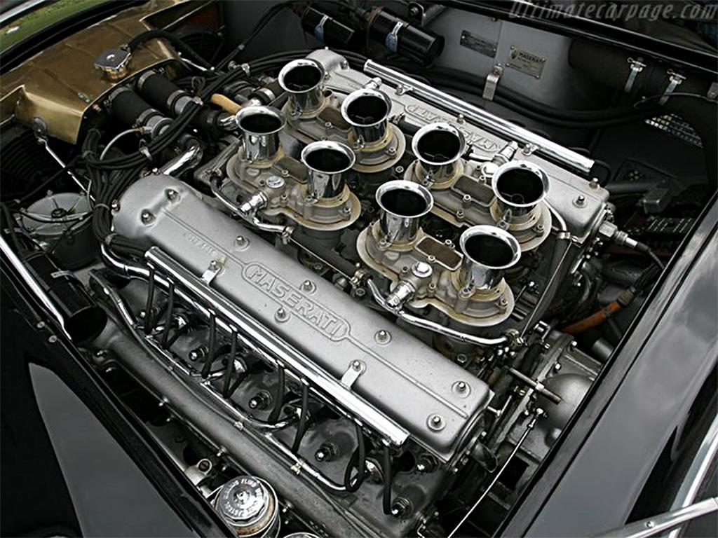 Maserati 450 S motor
