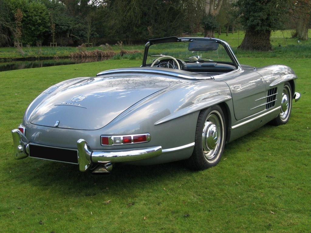 Mercedes benz 300 sl roadster w198 klassiekerweb for Mercedes benz pics