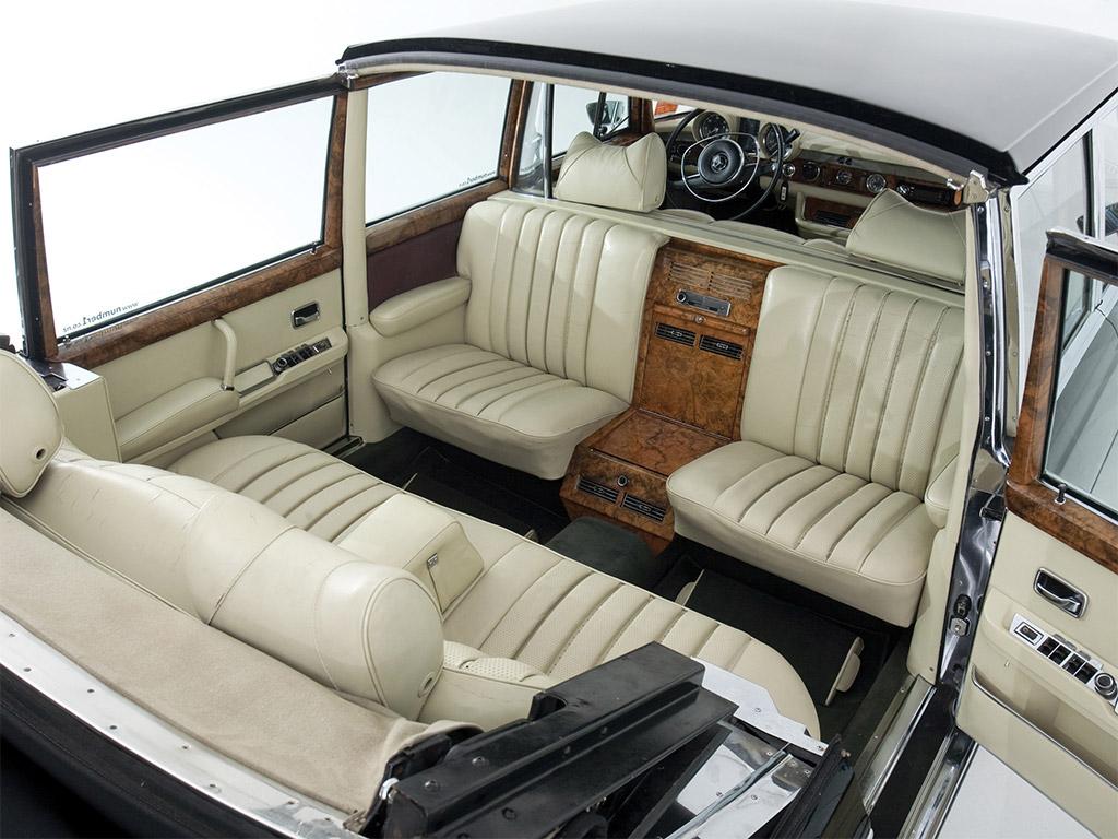 Mercedes-Benz 600 Pullman Landaulet (W100) Interieur