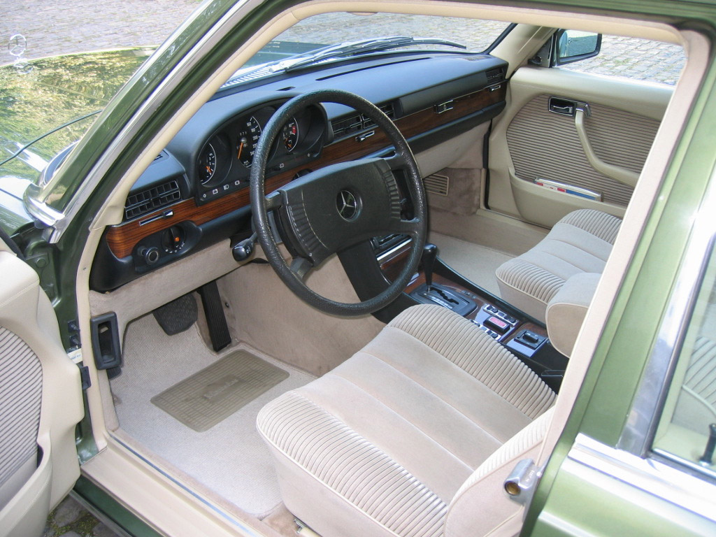 Mercedes benz s klasse w116 klassiekerweb for Mercedes s interieur