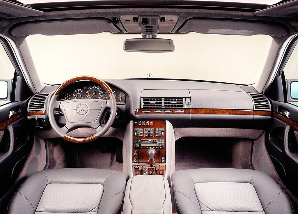 Mercedes benz s klasse w140 klassiekerweb for Mercedes s interieur