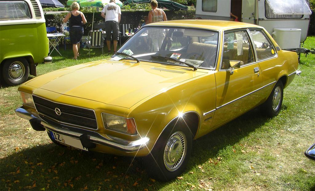 Opel Rekord Klassiekerweb