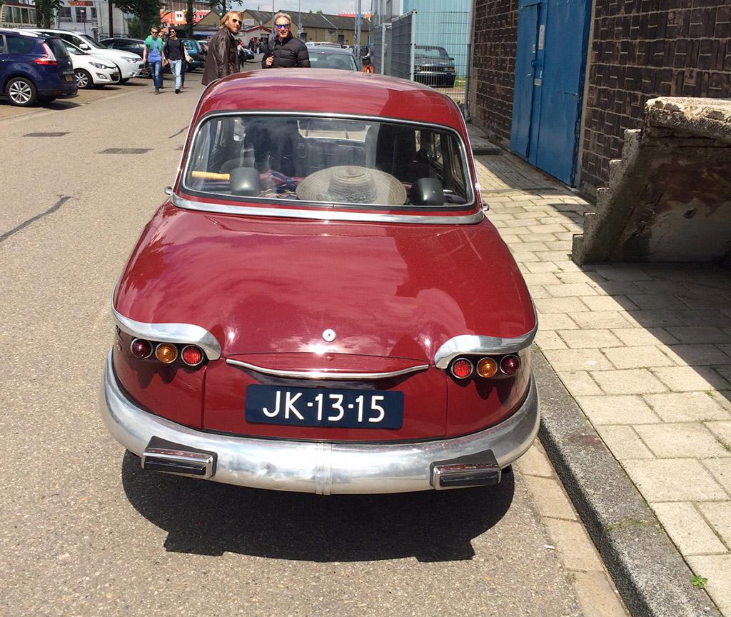 Panhard PL17 1962 achter