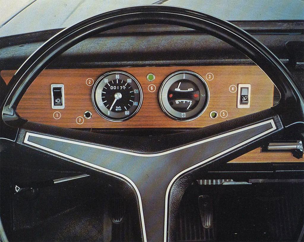 Simca 1100 interieur