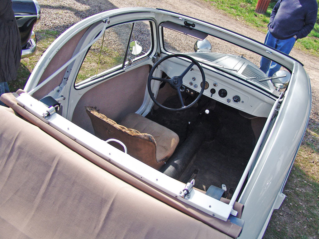 Simca 5 interieur