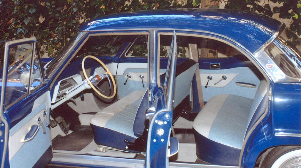 Simca Ariane interieur