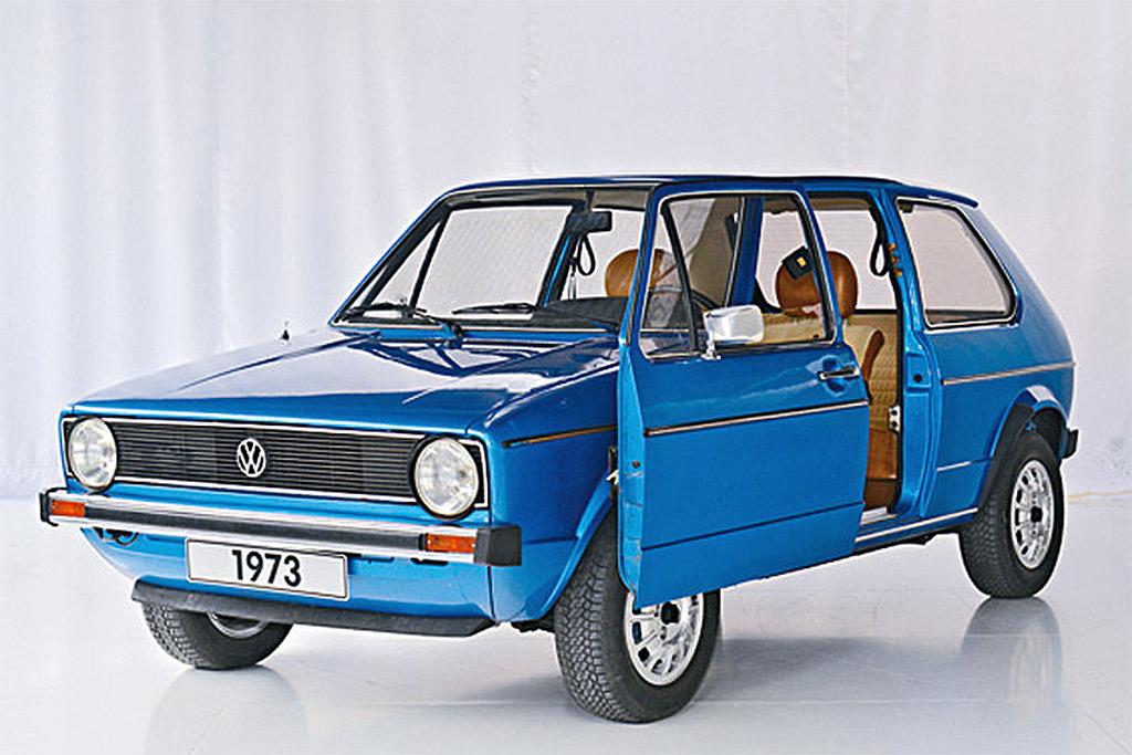 Volkswagen golf 1973 schuifdeur