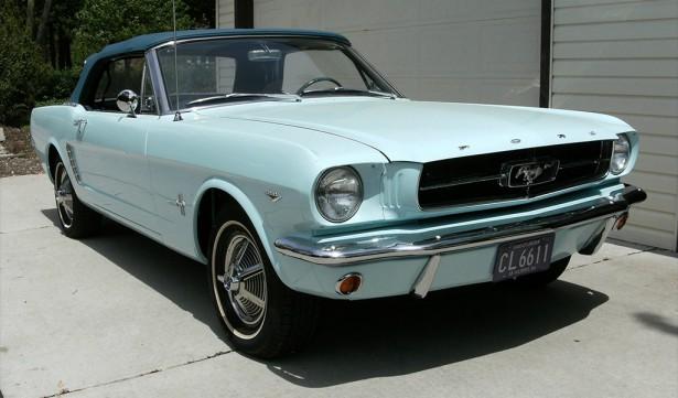 eerste Ford mustang