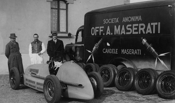 100 jaar maserati