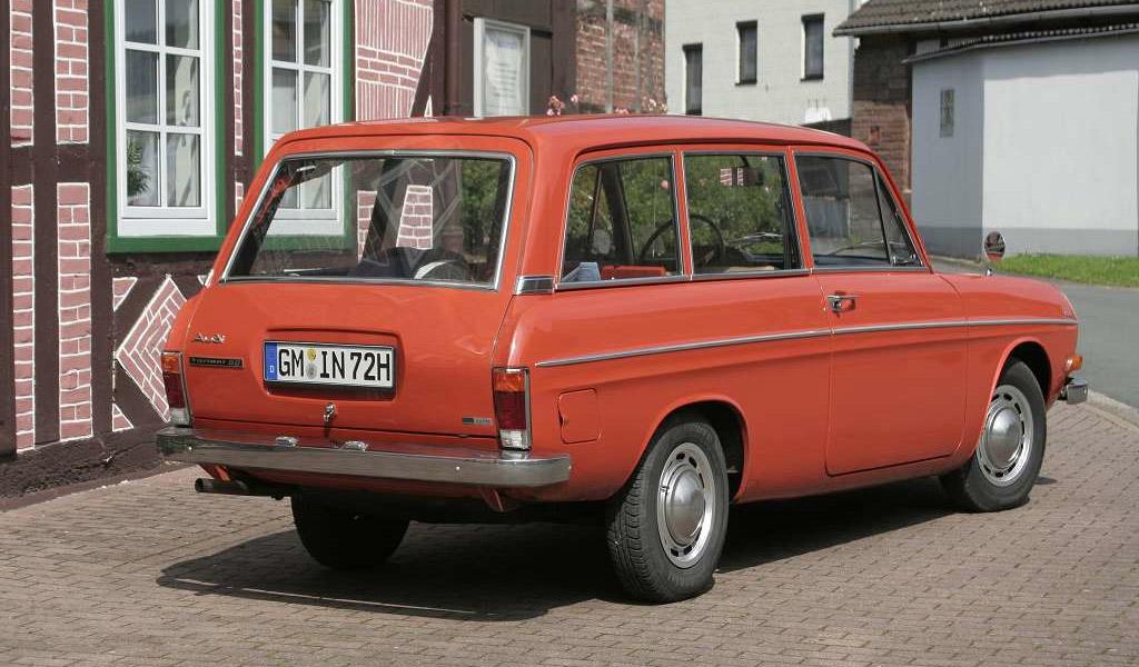 Audi 60 variant 1972