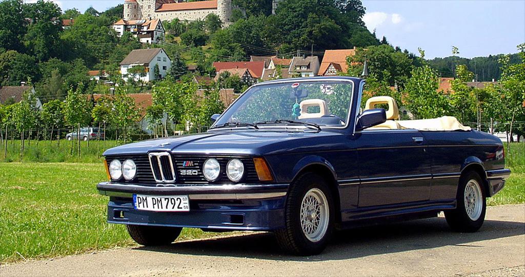 BMW E21 320 cabrio