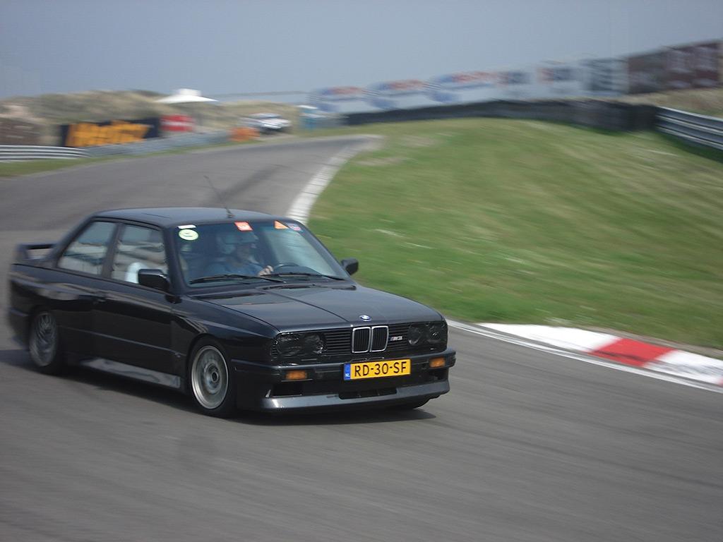 BMW E30 M3 actie 1986