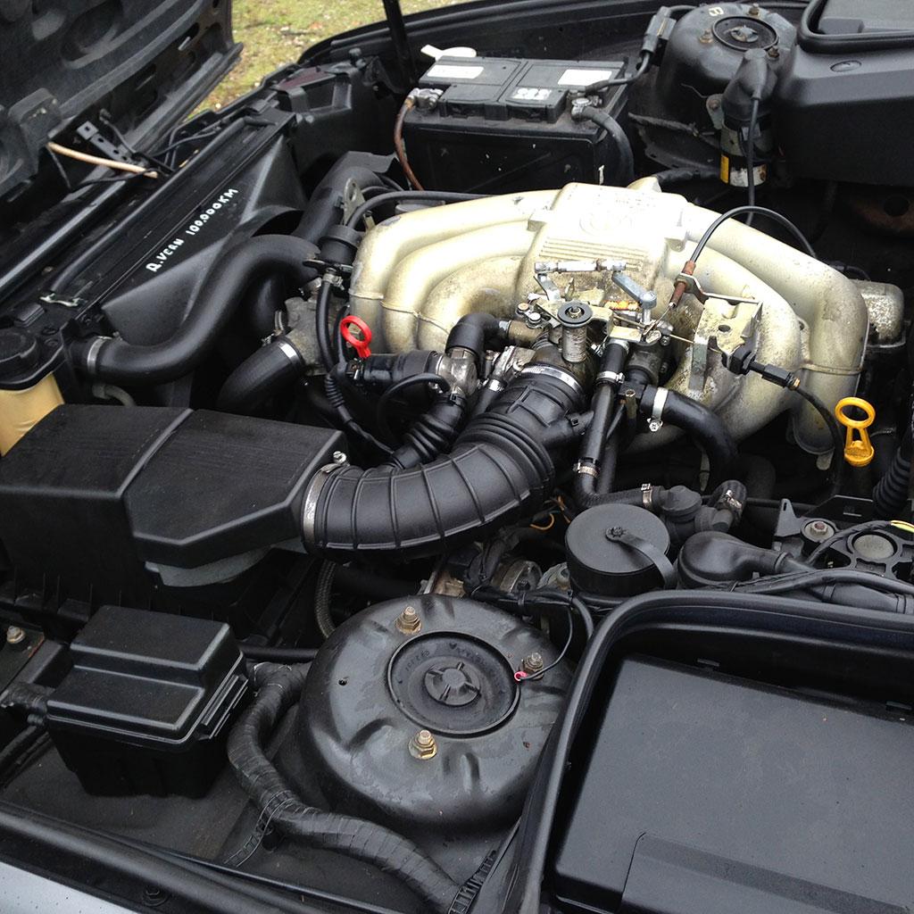 BMW E34 520i 1989 blok