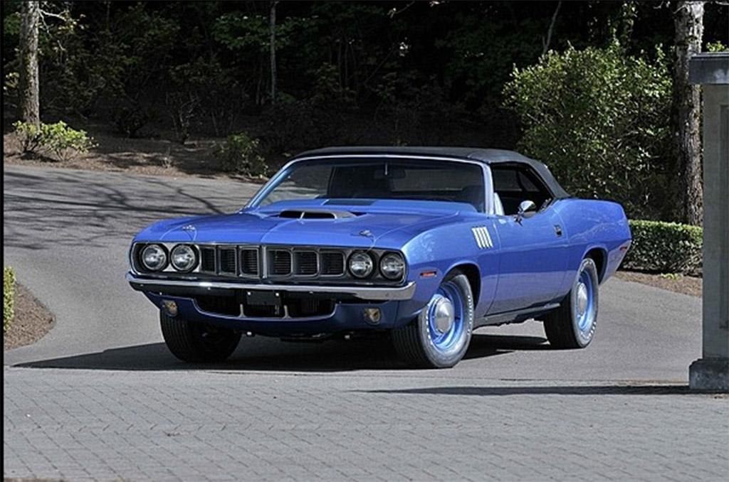 Hemi Cuda convertible 1971