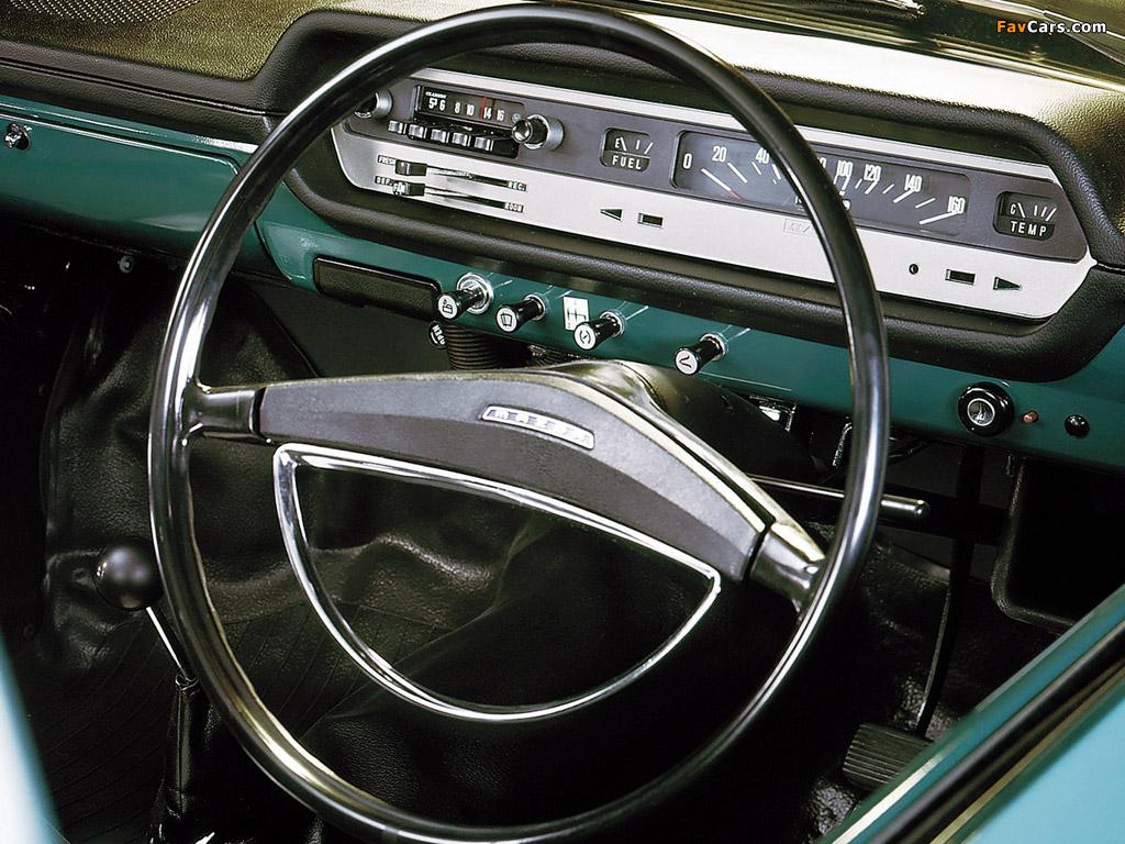 Mazda 1000 dashboard