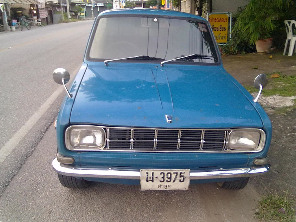 Mazda 1000 front