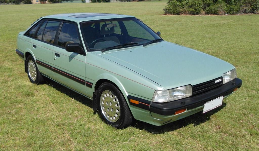 Mazda 626 turbo 1986