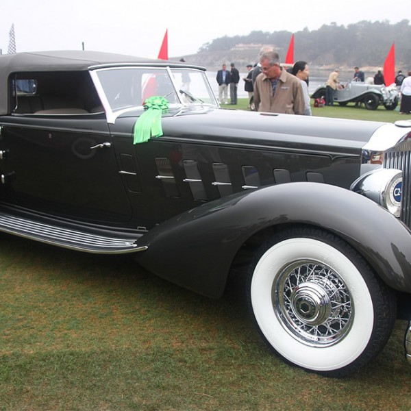 Packard 1108 Twelve Dietrich Convertible Victoria 1934