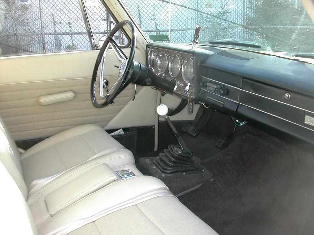 Studebaker Lark 1966 interieur