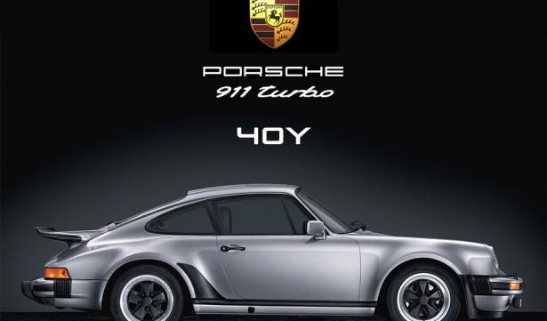 40 jaar porsche 911 turbo