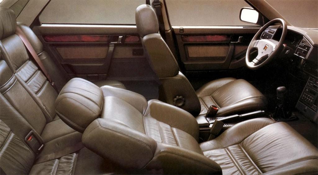 Rover 825i interieur 1988