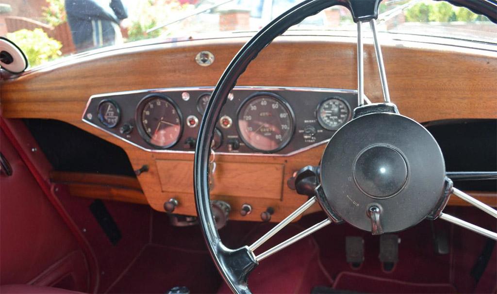 Rover P3 interieur