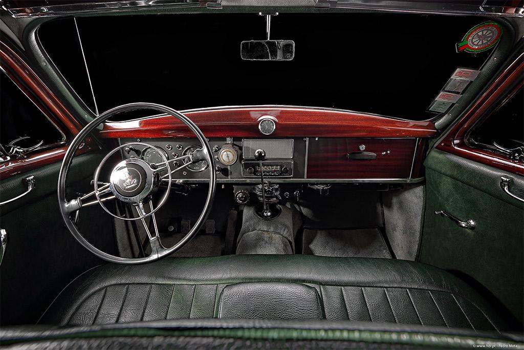 Rover P4 60 interieur